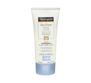 Ultra Sheer Face Sunscreen SPF 60,, 88 ml