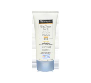 Ultra Sheer Face Sunscreen SPF 60,, 88 ml