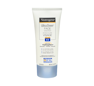 Ultra Sheer Face Sunscreen SPF 45, 88 ml – Neutrogena : Sunscreen