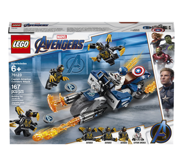 Image 1 of product Lego - Captain America: Outriders Attack, 1 unit
