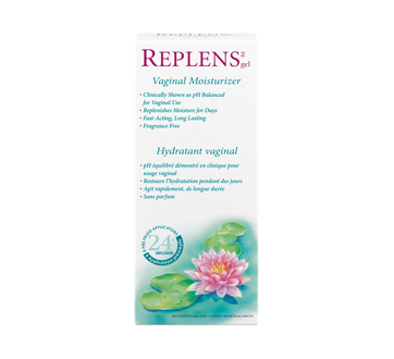 Image of product Replens - Vaginal Moisturizer and Lubricant, 8 units, 24 Days