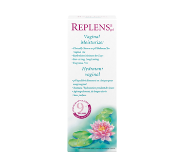 Image of product Replens - Vaginal Moisturizer and Lubricant, 3 units, 9 Days