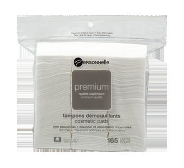 Premium Cosmetic Pads - Small Square, 165 units
