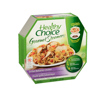 Image 2 of product Healthy Choice - Gourmet Steamers Grilled Balsamic Chicken, 284 g