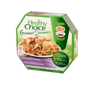 Image 3 of product Healthy Choice - Gourmet Steamers Grilled Balsamic Chicken, 284 g