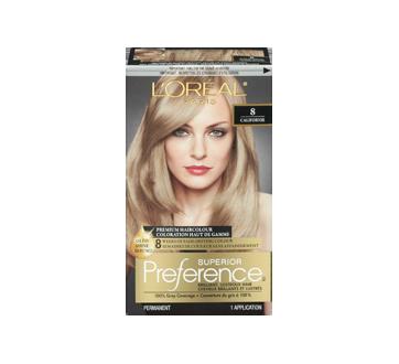 Image 3 of product L'Oréal Paris - Superior Preference Premium Haircolour, 1 unit 8 - Californie Medium Blonde