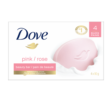 Pink Beauty Bar, 4 x 90 g