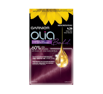 Image 2 of product Garnier - Olia Permanent Hair Colour, 1 unit Violet Red