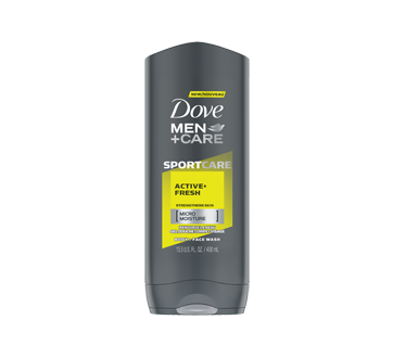 Image of product Dove Men + Care - SportCare Active+Fresh Body & Face Wash, 400 ml