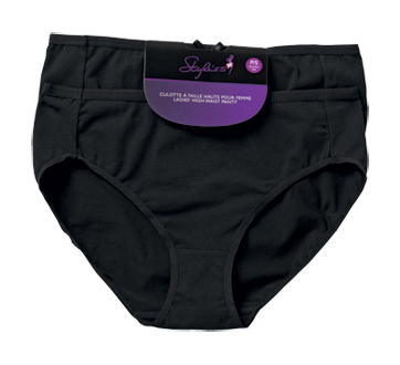 Ladies' High Waist Panty, 2 units, Small