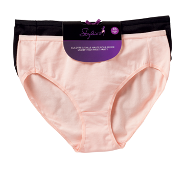Image 2 of product Styliss - Ladies' High Waist Panty, 2 units, Small