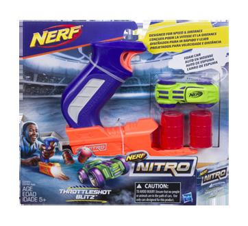 Nitro Throttleshot Blitz, 1 unit, Orange & Blue