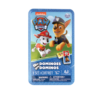 Image of product Nickelodeon - Paw Patrol Dominoes, 1 unit