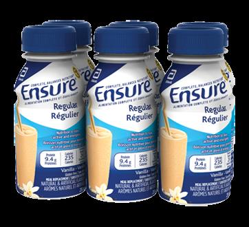 Image of product Ensure - Ensure Regular Vanilla, 6 x 235 ml