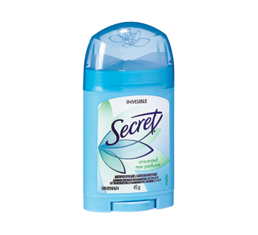 Solid Antiperspirant, 45 g, Unscented