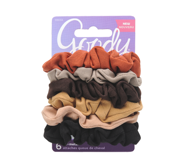 Ouchless Scrunchies, 6 units