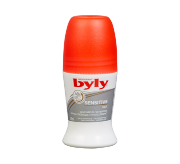 Image of product Byly - Sensitive Antiperspirant Roll-On, 50 ml, Unscented