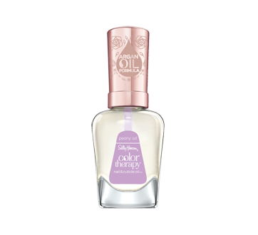 Color Therapy Nail & Cuticle Oil, 14.7 ml, Peony