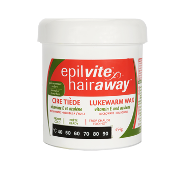 Image of product Epil Vite - Lukewarm Wax Vitamin E and Azulen, 454 g