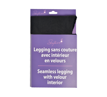 Seamless Legging with Velour Interior, 1 unit, Large-Extra Large
