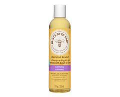 Image of product Burt's Bees - Baby Shampoo and Wash Calming, 235 ml, Lavender and vanilla aroma