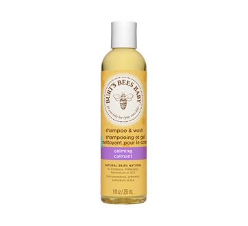 Burt's Bees Baby Calming Shampoo and Wash, 235 ml