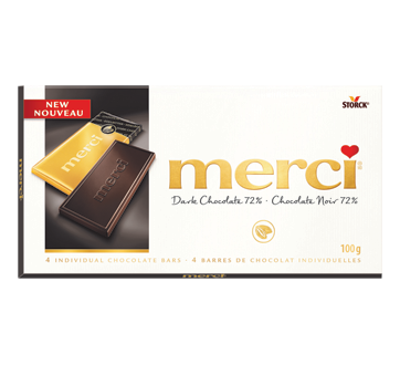 Dark Chocolate 72%, 100 g