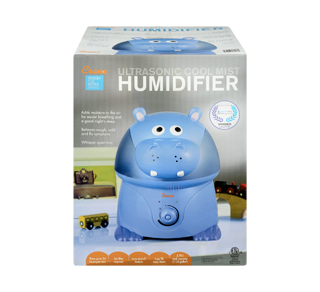 Ultrasonic Cool Mist Humidifier, 1 unit, Hippo