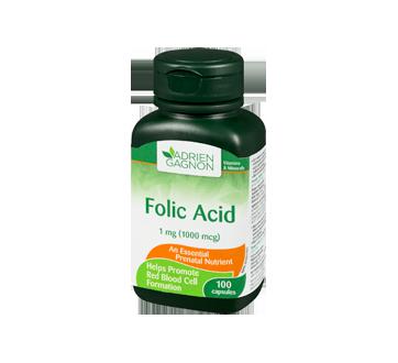 Image 1 of product Adrien Gagnon - Folic Acid, 100 units