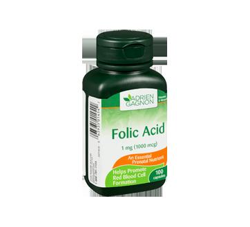 Image 2 of product Adrien Gagnon - Folic Acid, 100 units