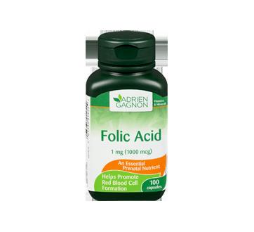 Image 3 of product Adrien Gagnon - Folic Acid, 100 units