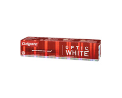 Image of product Colgate - Optic White Toothpaste, 140 ml, Sparkling Mint