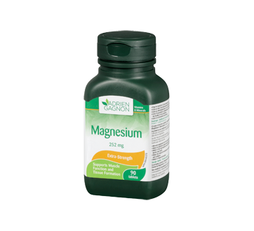 Image 1 of product Adrien Gagnon - Magnesium 252 mg, 90 units
