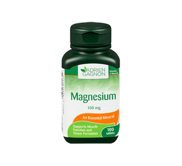 Image 3 of product Adrien Gagnon - Magnesium 100 mg, 100 units