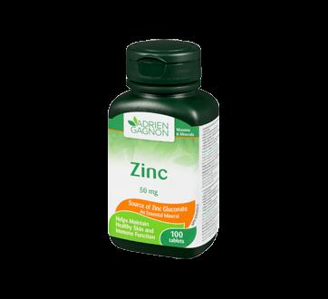 Image 1 of product Adrien Gagnon - Zinc 50 mg, 100 units