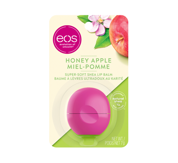 Visibly Soft Lip Balm, 1 unit, Honey & Apple