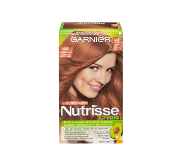 Image 3 of product Garnier - Nutrisse - Haircolour, 1 unit 641 - Natural Light Copper