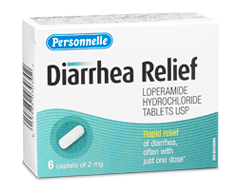 Image of product Personnelle - Diarrhea Relief, 6 caplets