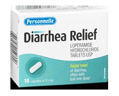 Image of product Personnelle - Diarrhea Relief, 18 caplets