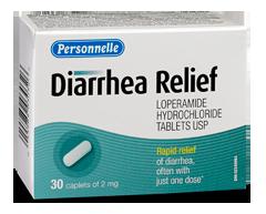 Image of product Personnelle - Diarrhea Relief, 30 caplets