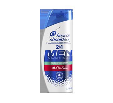 Old Spice Pure Sport 2-in-1 Anti-Dandruff Shampoo + Conditioner, 650 ml