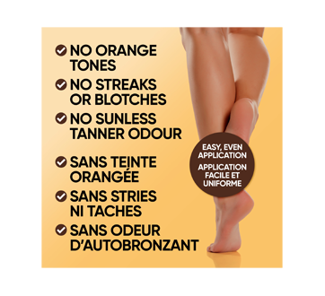 Image 4 of product Jergens - Natural Glow Instant Sun Sunless Tanning Mousse Ultra Deep Bronze, 180 ml