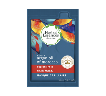 Bio Renew Argan Oil of Morocco Sulfate-Free Repair Hair Mask, 50 ml