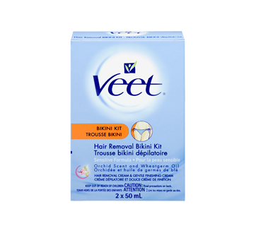 Image 3 of product Veet - Hair Removal Kit Bikini, Sensitive Skin, 50 ml