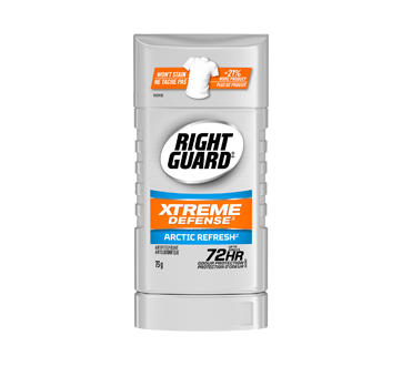 Right Guard Xtreme Defense Antiperspirant, 73 g, Artic Refresh