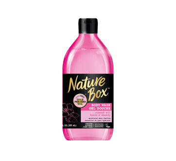 Image of product Nature Box - Body Wash, 385 ml, Almond Oil