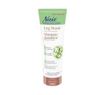 Hair Remover & Beauty Tretment Leg Mask, Exfoliate & Smooth, 227 g