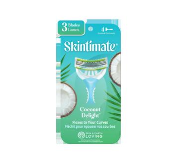 Coconut Delight Disposable Razor, 4 units