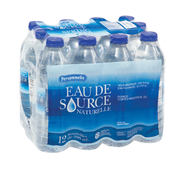 Natural Spring Water, 12 X 500 ml
