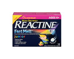 Image of product Reactine - Reactine Fast Melt Junior Formula, 12 units